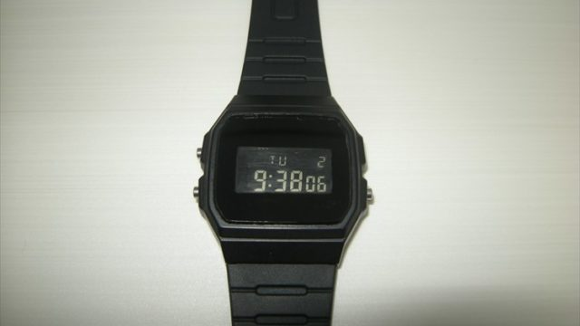 casio f-91w custom全体写真