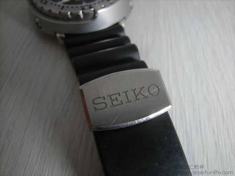 セイコーのダイバーズ時計(sbbn017) ツナ缶のベルト