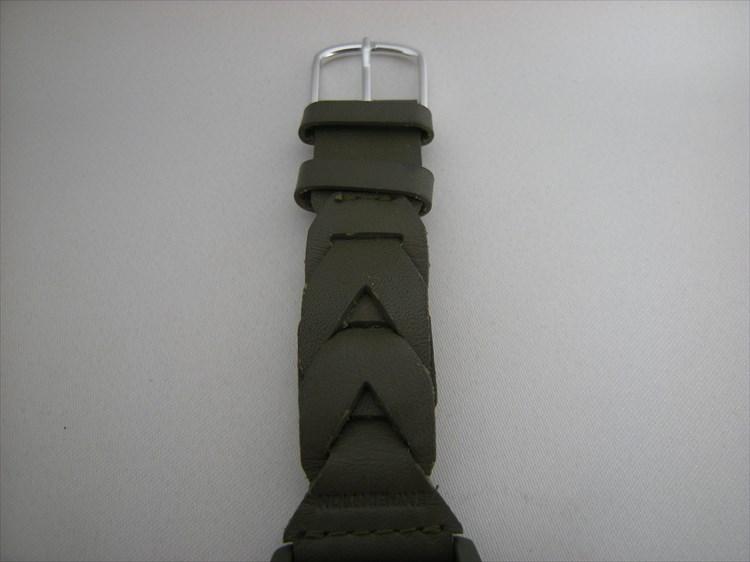 タイメックス×ライトニング(雑誌)のコラボウォッチ TIMEX×Lightningの編み込みベルト