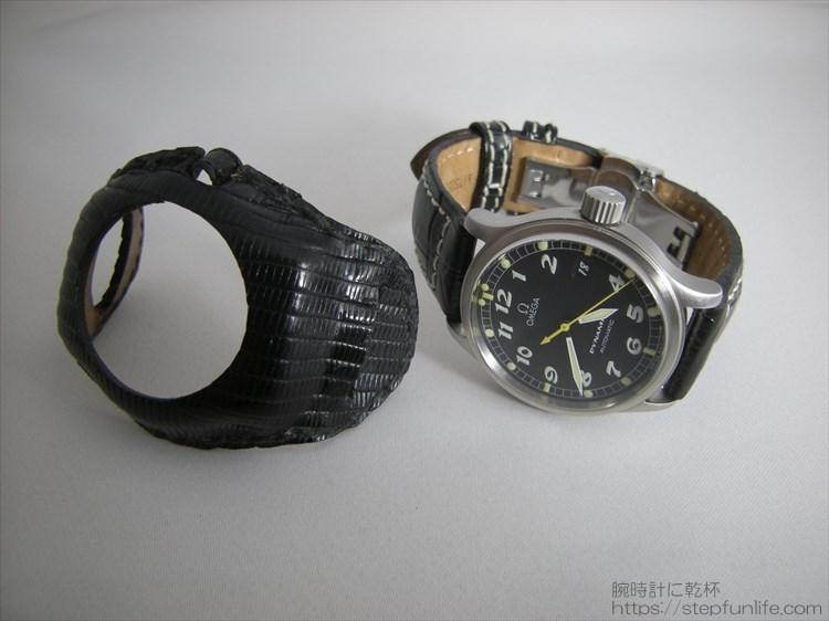 腕時計の服・自作「ウォッチレザーマスク」でお気に入りのウォッチをカスタム