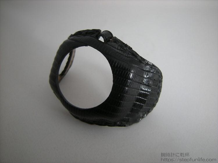 腕時計の服・自作「ウォッチレザーマスク」でお気に入りのウォッチをカスタム全体写真