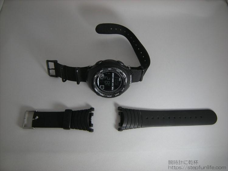 スント ベクター SUUNTO VECTOR HR(ハートレートモニター) 純正とカスタム写真