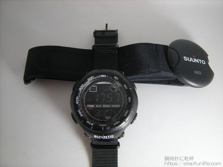スント ベクター SUUNTO VECTOR HR(ハートレートモニター) 付属品写真