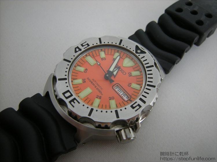 SEIKO セイコー 7s26-0350 (オレンジモンスター)