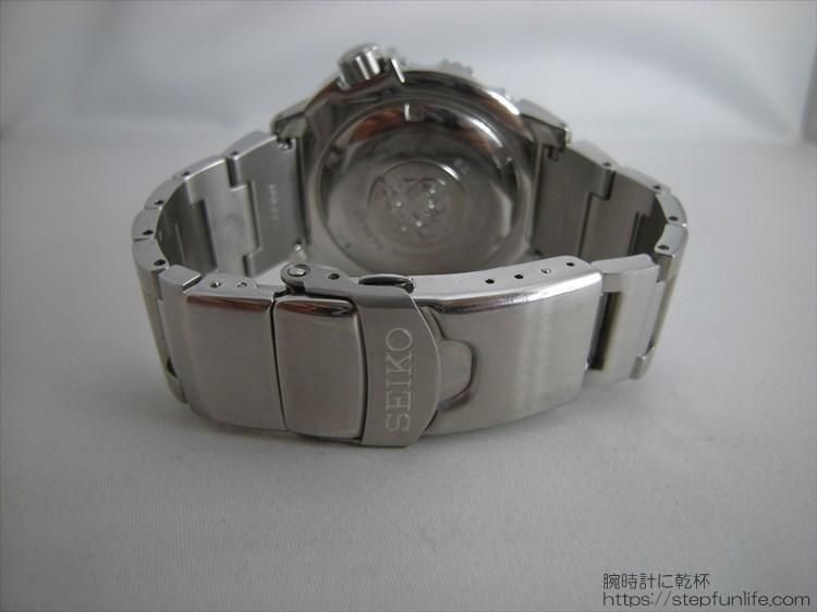 SEIKO セイコー 7s26-0350 (オレンジモンスター) ステンレスベルトバックル部分