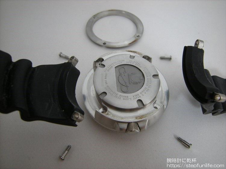 citizen bj8050-08e エコジラ ベルト交換手順2