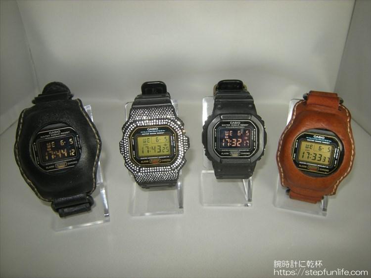 色々なベゼルのdw-5600