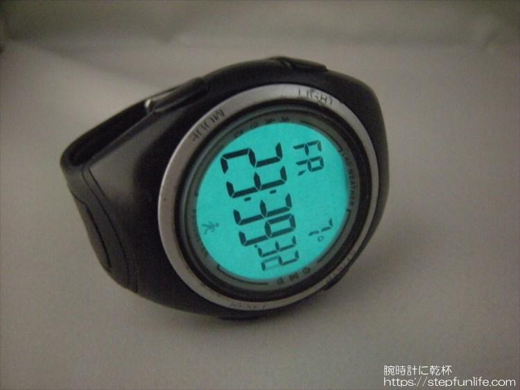 ラドウェザー ペドメーターマスター2 歩数計内臓腕時計 ELバックライト