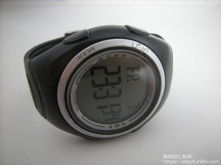 ラドウェザー ペドメーターマスター2 歩数計内臓腕時計 フェイス2
