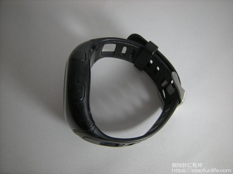 ラドウェザー ペドメーターマスター2 歩数計内臓腕時計 右サイド