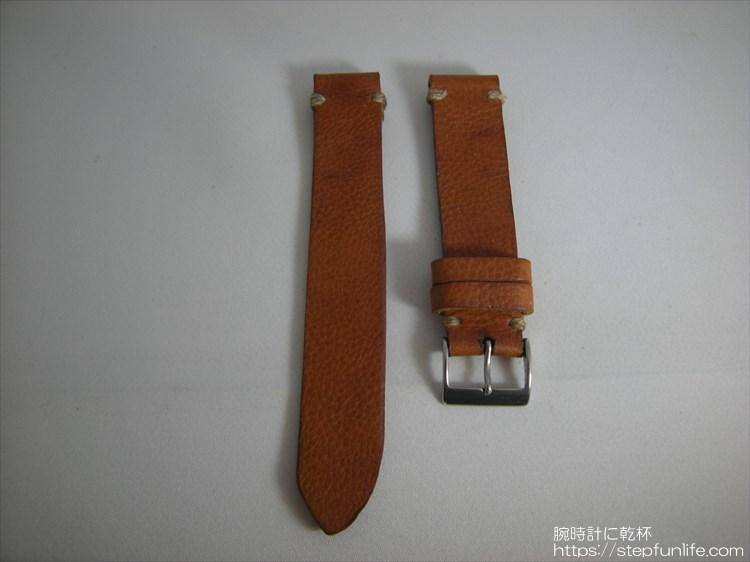 腕時計ベルト自作 制作手順 完成