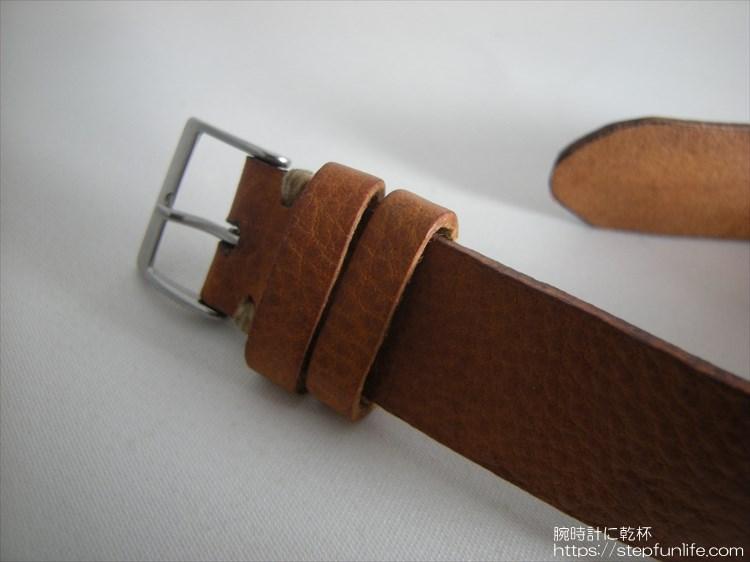 腕時計ベルト自作 完成イメージ