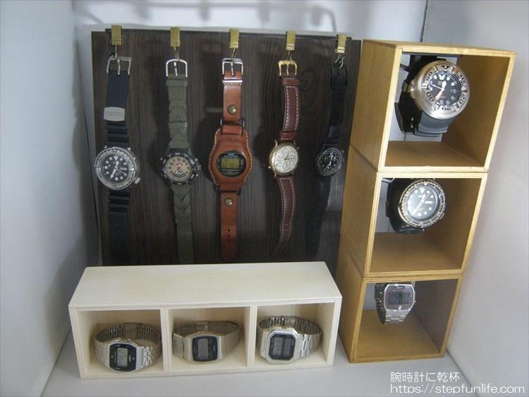 腕時計ディスプレイ (watch display) ディスプレイイメージ全体