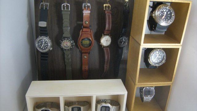腕時計ディスプレイ