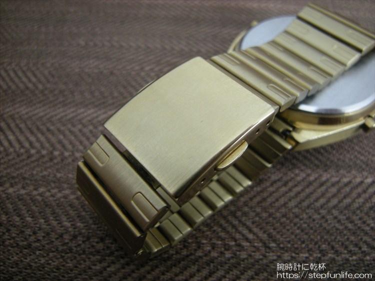 セイコー ジウジアーロ w680-4070 プッシュバックル
