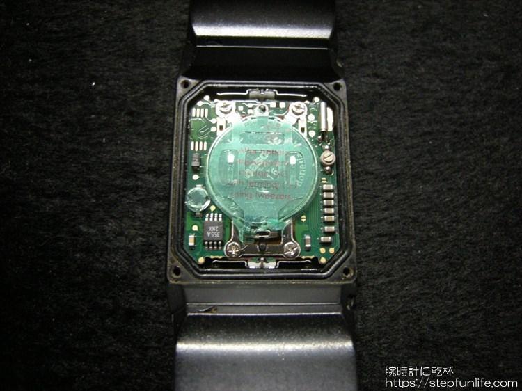 カシオ ペラ フィルムウォッチ FS-00 電池交換2