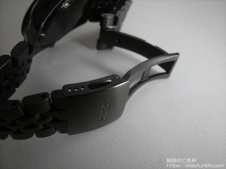 セイコー スピリット パワーデザインプロジェクト SBPP005 プッシュ式バックル