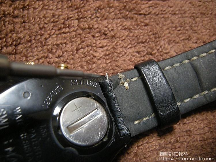 スウォッチ(SWATCH)に汎用ベルトを取り付けるカスタム・改造 汎用ベルト取り付け
