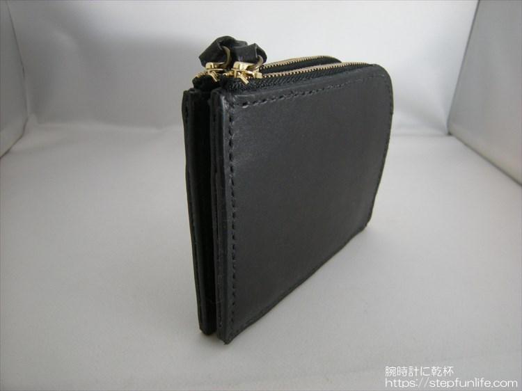 自作L字ファスナー財布 ダブル  完成写真3