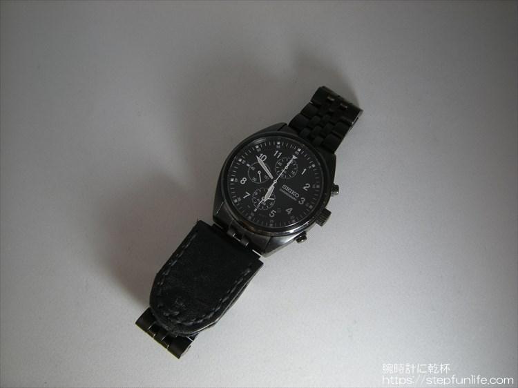 腕時計に鏡
