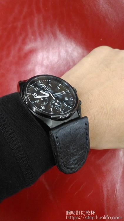 腕時計に鏡を取り付ける 装着イメージ5