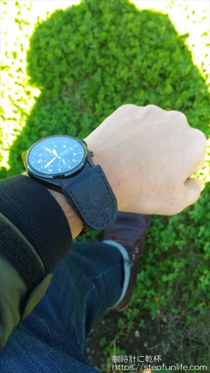 腕時計に鏡を取り付ける 装着イメージ6