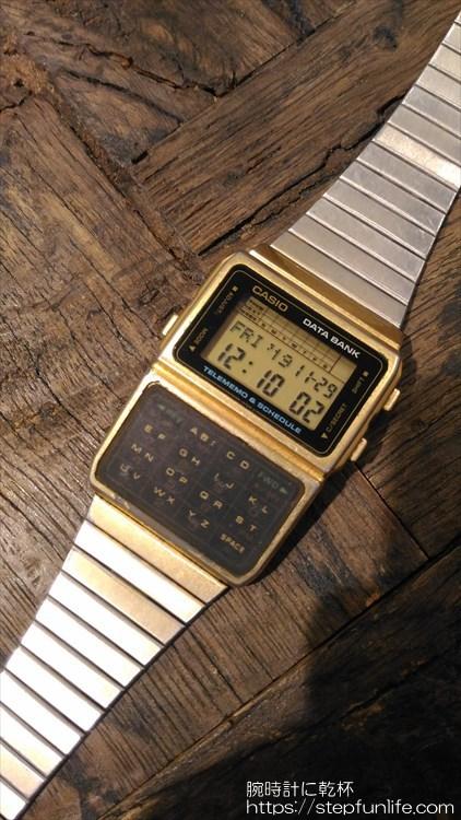 カシオ データバンク DBC-610 ゴールド フェイス