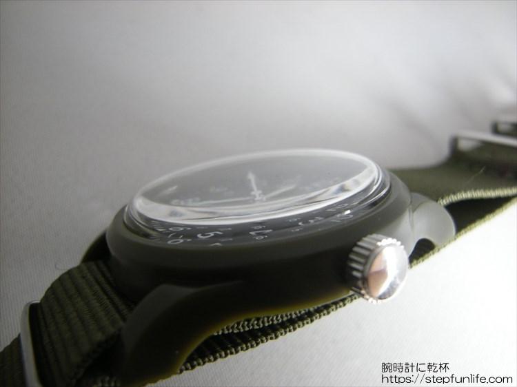 ダイソー ミリウォッチ (miliwatch) ドーム型プラスチック風防