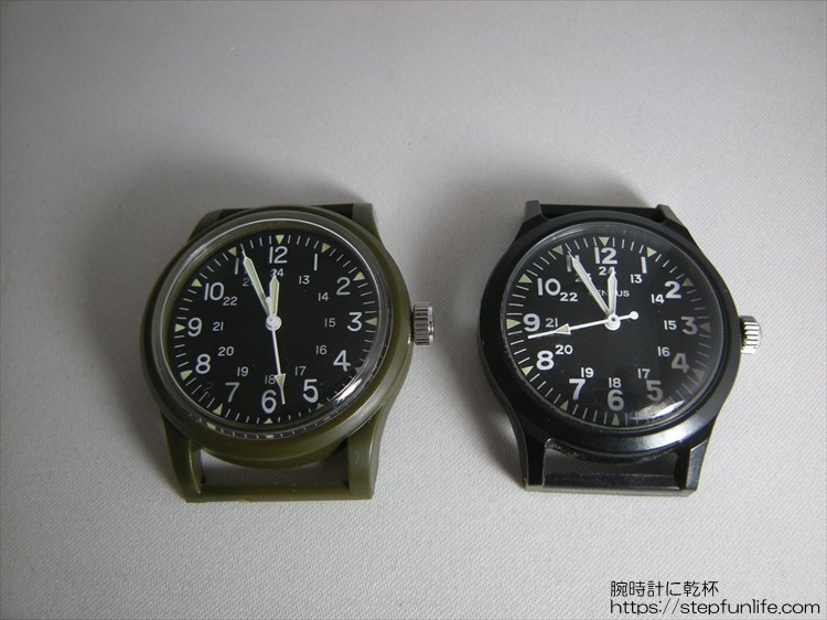 ダイソー ミリウォッチ (miliwatch) とベンラス763シリーズ