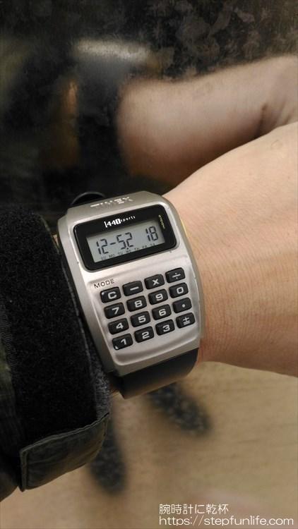 タイメックス カリキュレーター 1440 sports 着用イメージ8