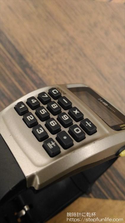 タイメックス カリキュレーター 1440 sports ボタン