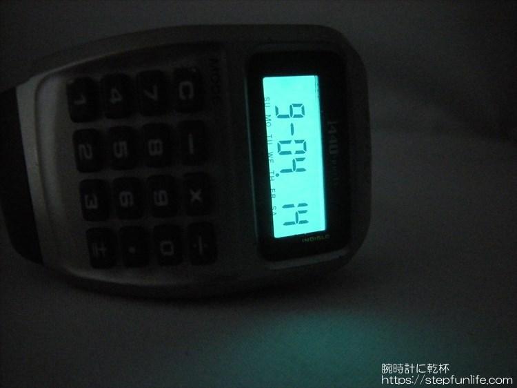 タイメックス カリキュレーター 1440 sports インディグロナイトライト