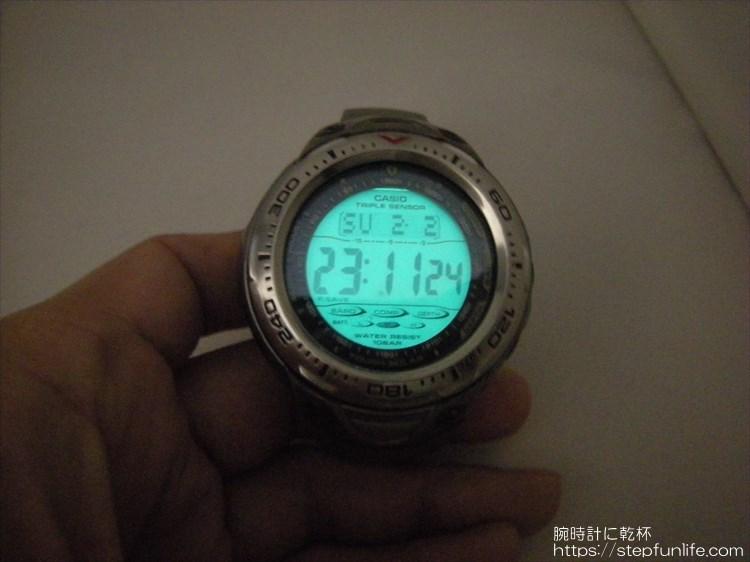 カシオ シーパスファインダー SPF-70TJ    ELバックライト