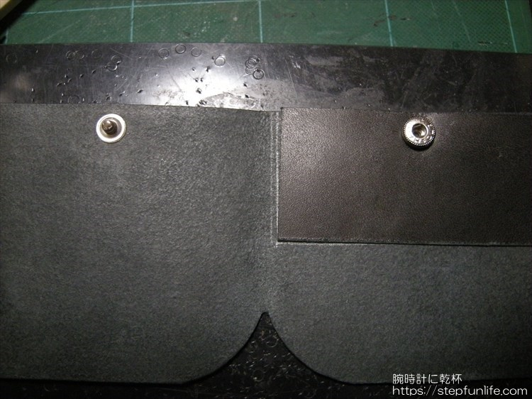 Lファスナー財布(鍵収納付き)を自作 内部パーツ作成