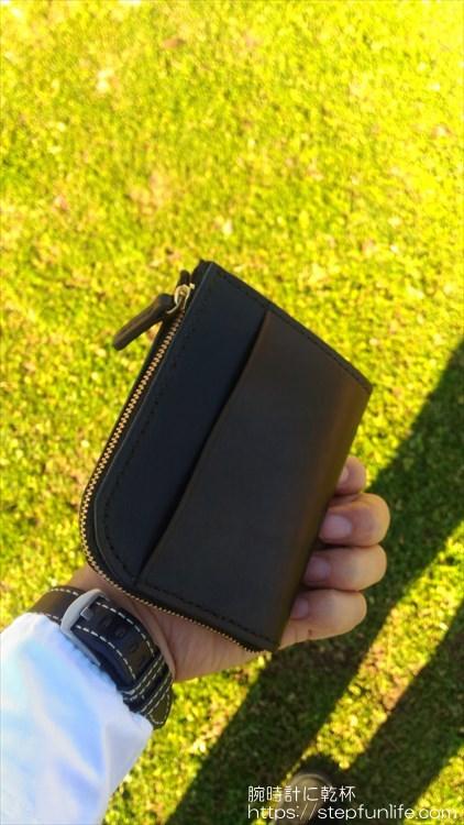 Lファスナー財布(鍵収納付き)を自作 完成イメージ2