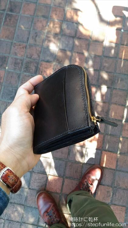 Lファスナー財布(鍵収納付き)を自作 完成イメージ