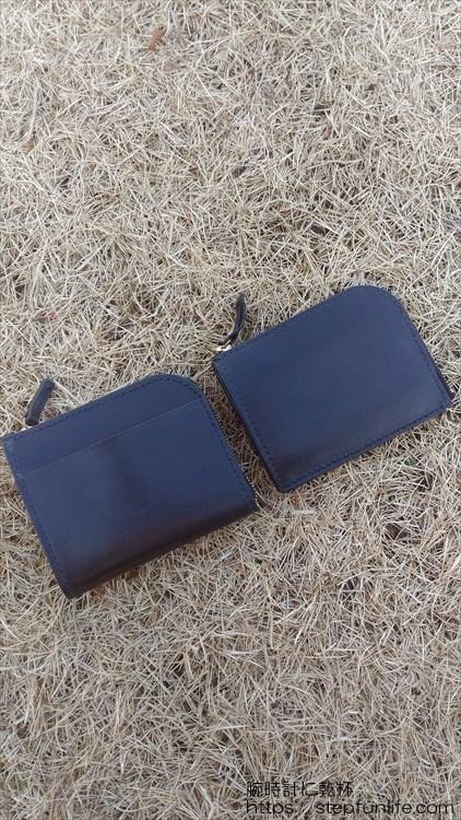 Lファスナー財布(鍵収納付き)比較