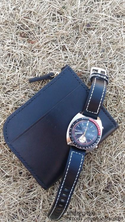 Lファスナー財布(鍵収納付き)を自作 完成イメージ5