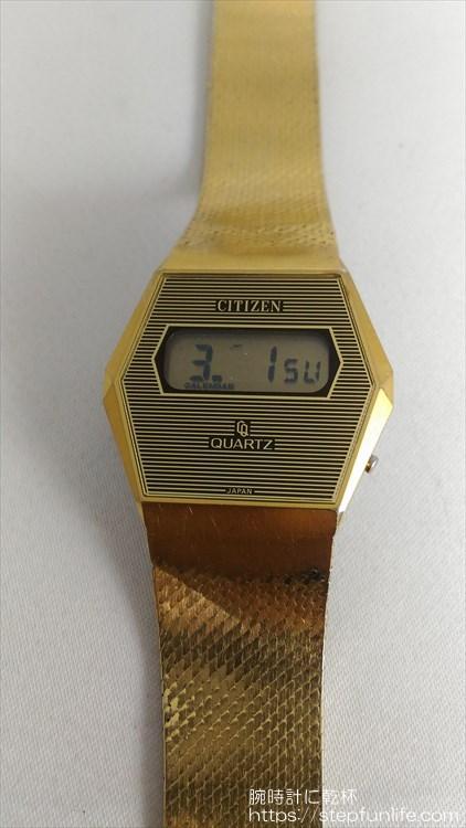 シチズン 40-7046 薄型デジタル カレンダー表示