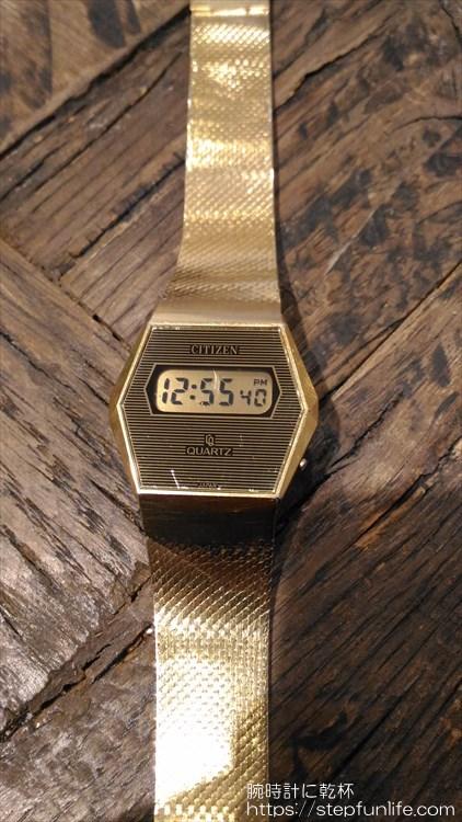 シチズン 40-7046 薄型デジタル フェイス
