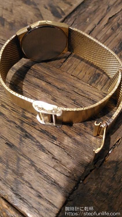 シチズン 40-7046 薄型デジタル バックル シングルロック