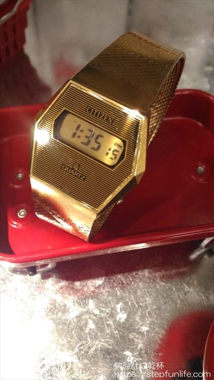 シチズン 40-7046 薄型デジタル フェイス2