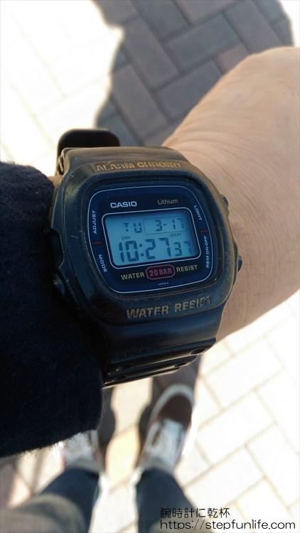 カシオ DW-310 着用イメージ3