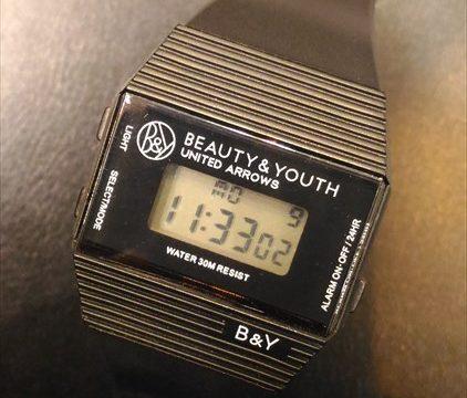 ビューティー&ユース ユナイテッド アローズ デジタル時計