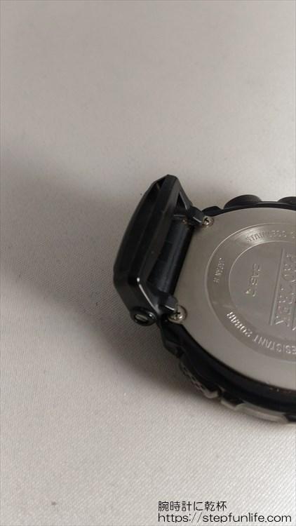 カシオ プロトレック PRW-1500GBJ ラグ部分