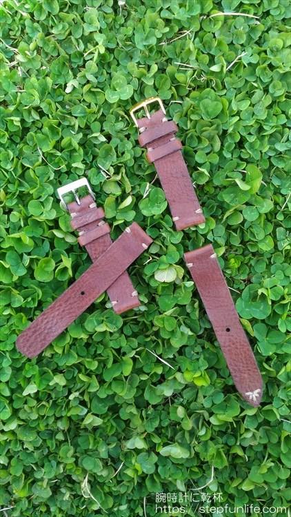 腕時計のベルトを自作する。完成