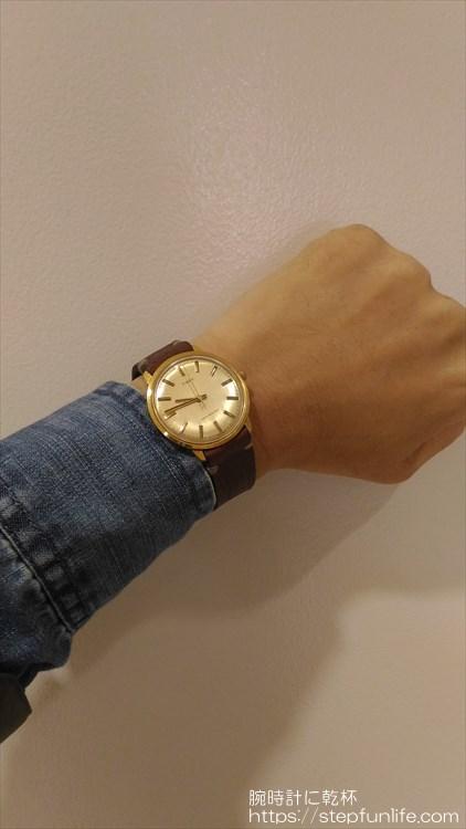 タイメックス(timex) 手巻き 着用イメージ2
