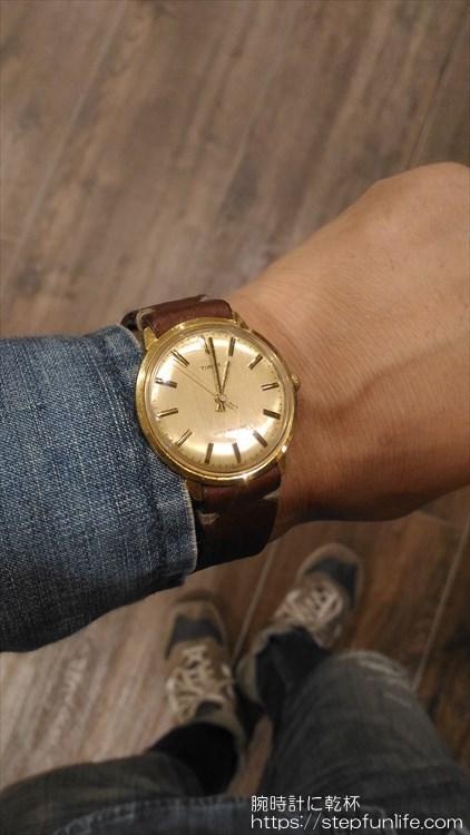 タイメックス(timex) 手巻き 着用イメージ3