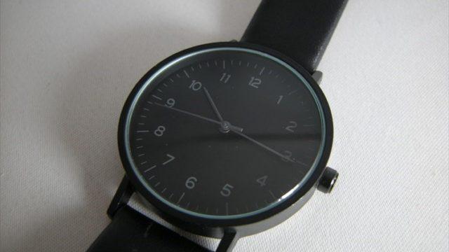 ダイソー 500円時計 シンプルウォッチ