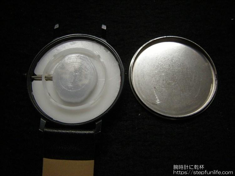 ダイソー 500円時計 シンプルウォッチ ムーブメント